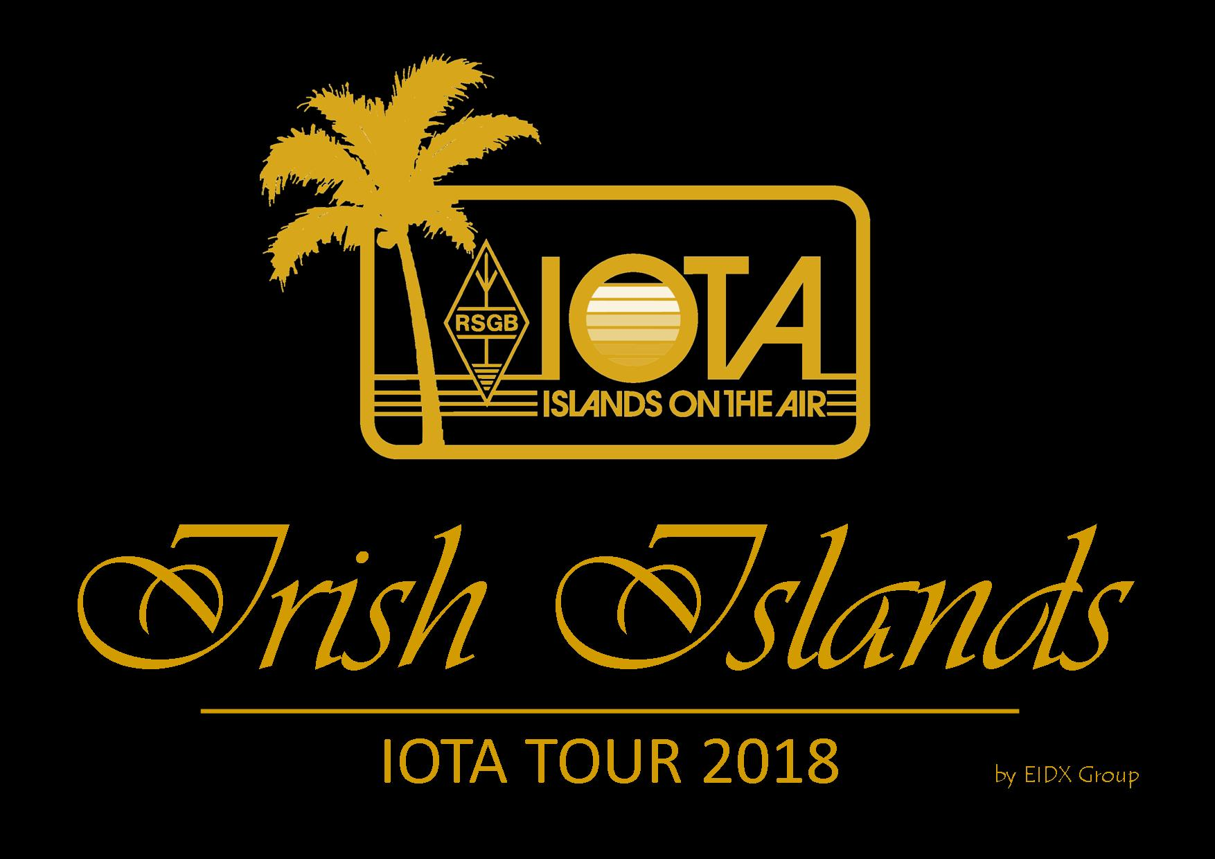 EJ0DXG, Irish Islands IOTA Tour 2018