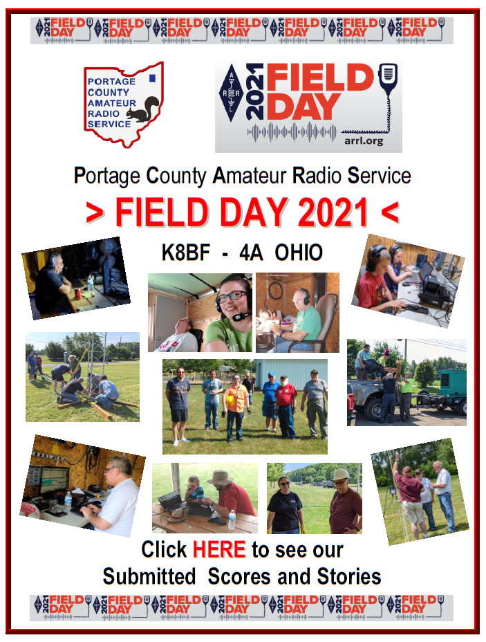 Click here for our latest Field Day report!